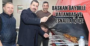 Esnaf Ziyaretine Çıkan Belediye Başkanı...