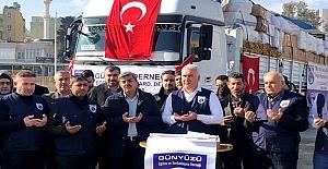 Günyüzü Derneği İdlibe Yardım...