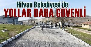 Hilvan'da Köy Yolları Yapılıyor