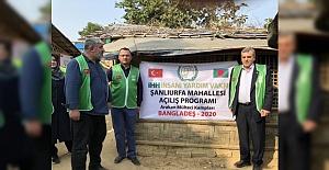 İHH Şanlıurfa Temsilciliği: Şanlıurfa Mahallesi Kampı tamamlandı