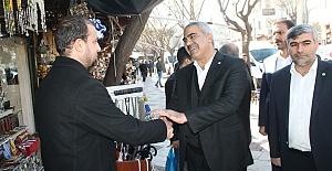 İl Başkanı Mehmet Nakşi Erat: Halkımızın Sıkıntılarını Yerinde Dinliyor