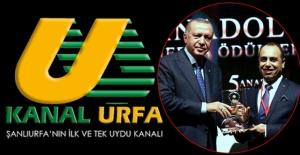 Kanal Urfa Yılın En İyi Televizyonu Seçildi