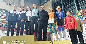 Şanlıurfalı Sporcu Nidanur Türkiye 3.Sü Oldu