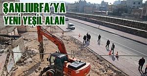 Süleymaniye'de Yeşil Alan Çalışmaları