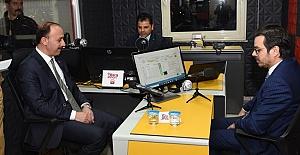 TRT Genel Müdürü İbrahim Eren Barış Pınarı FM' Ziyaret Etti