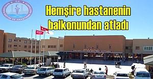 Urfa#039;daki Hastanede İntihar Olayı!...