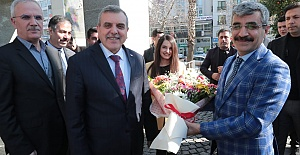 Aile Bakan Yardımcısı Selim Bağlı'dan Büyükşehir'e Ziyaret