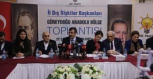 AK Parti Bölge Toplantısı Şanlıurfa'da Yapıldı