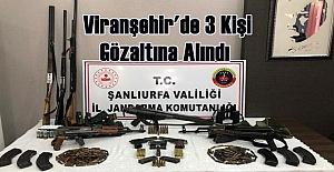 Bir Operasyon'da Viranşehr'de: 3 Kişi Gözaltına Alındı