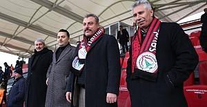 Karaköprü Belediye Kızılcabölük Maçınına Hazırlanıyor