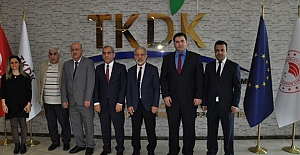 Rektör Çelik'ten TKDK Koordinatörü Yetim'e Ziyaret