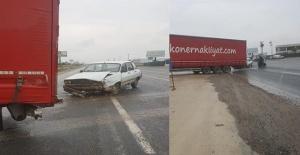 Şanlıurfa - Akçakale yolunda trafik kazası
