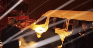 Şanlıurfa'da İşçi Servisi Kaza Yaptı; 4 Yaralı