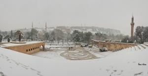 Şanlıurfa#039;da kar manzaraları