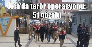 Şanlıurfa'da PKK'ya Büyük Operasyon: 51 Şüpheliye Gözaltı