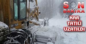 Urfa#039;da Yoğun Kar yağışı...