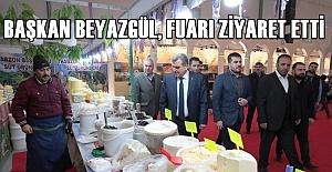 Urfa Gıda Fuarını Ziyaret Eden Başkan...