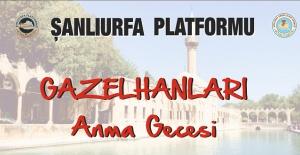 Urfalı Gazelhanlar İçin Ankara'da Anma Etkinliği Yapılacak