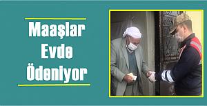 Urfa'da Yaşlılar Maaşını Evde Alabiliyorlar