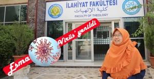 Harran Üniversitesi'nde okuyan Esma Koronavirüs'e yenildi