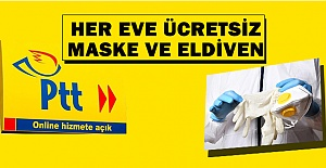 Sağlık Bakanlığı PTT Üzerinden Ücretsiz Maske Dağıtacak