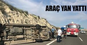 Şanlıurfa - Gaziantep yolunda trafik kazası: 1 Yaralı