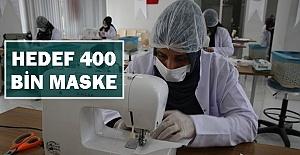 Urfa'da Yüzbinlerce Maske Üretimi İçin Harekete Geçildi