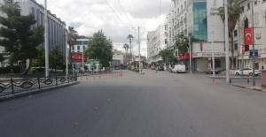 Şanlıurfa Caddelerinde Koronavirüs Sessizliği