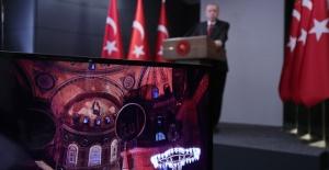 Ayasofya'da Fetih suresi ve Cumhurbaşkanı Erdoğan'dan tarihi konuşma