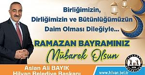 Başkan Bayık'tan Ramazan Bayramı Mesajı