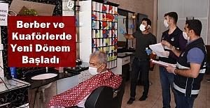 Faaliyete Başlayan Berberler Denetlendi