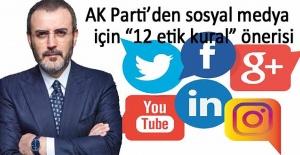 İşte AK Parti'nin sosyal medya için önerdiği 12 etik kural