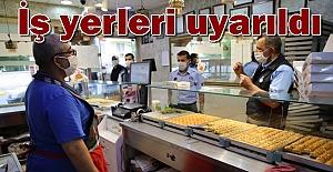 Urfa'da Sokağa Çıkma Yasağı Olan Bayram'da Tatlıcılar Denetlendi