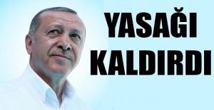 Cumhurbaşkanı Erdoğan duyurdu, Sokağa çıkma kısıtlaması iptal edildi