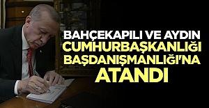 Erdoğan'a 2 Yeni Başdanışman Atandı