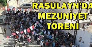 Resulayn'da Mezuniyet Töreni Düzenlendi