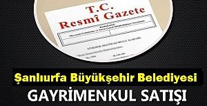 Şanlıurfa Büyükşehir Belediyesi İhale İle Arsa Satışı Yapacak