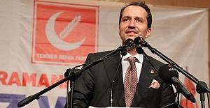 Yeniden Refah Partisi Lideri Erbakan'dan YKS açıklaması