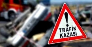 Suruç'ta feci kaza:1 ölü,1 yaralı