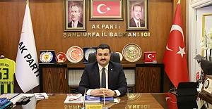AK Parti İl Başkanı Yıldız'dan Kurban Bayramı Mesajı
