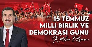 Başkan Baydilli'den 15 Temmuz Demokrasi ve Milli Birlik Günü Mesajı