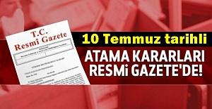 Cumhurbaşkanı Erdoğan'a 2 Danışman Atandı