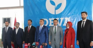 Deva Partisi Şanlıurfa Kurucu Heyeti basınla buluştu
