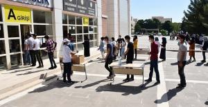 Harran Üniversitesi Yabancı Öğrenci Sınavı Yapıldı