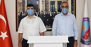 Kaymakam Doğan ve Belediye Başkanı Bayık'tanBayram Mesajı