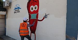 Şanlıurfa Büyükşehir Belediyesi'nden sosyal içerikli mesaj