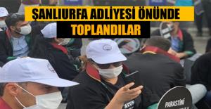 Urfa'da Avukatlar, Baro Tekelini Kıracak Düzenlemeye Karşı Eylem Yaptılar