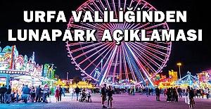 Urfa'da Lunapark ve Tematik Parklar Açılıyor