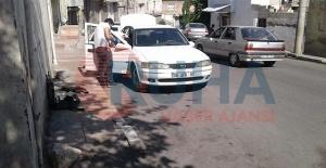 Urfa'da park halindeki araçta hırsızlık!