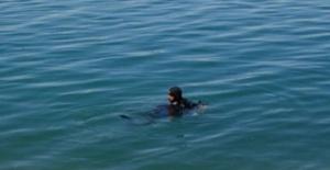 Fırat nehrine düşen kızını kurtarmak isteyen baba boğuldu